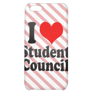I love Student Council Case For iPhone 5C
