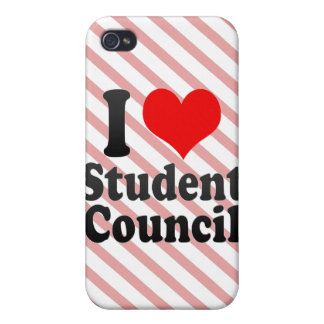 I love Student Council iPhone 4/4S Cases