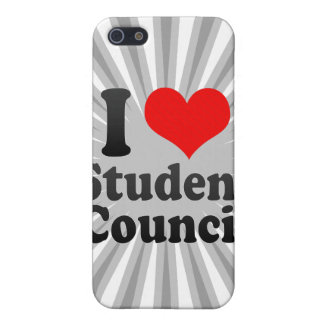 I love Student Council Cover For iPhone 5
