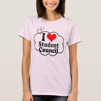 I love Student Council T-Shirt