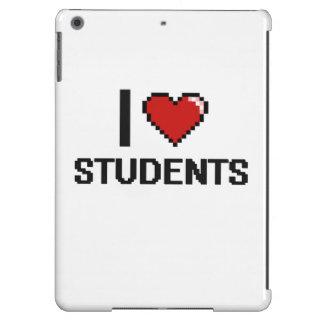 I love Students iPad Air Cases