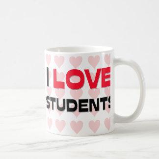 I LOVE STUDENTS COFFEE MUG