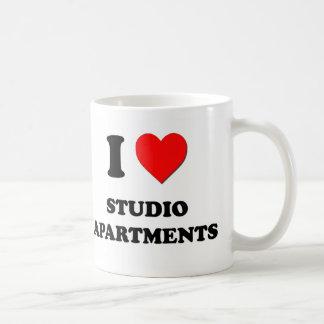 I love Studio Apartments Mugs