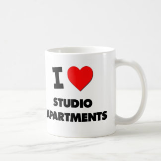 I love Studio Apartments Coffee Mugs