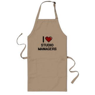I love Studio Managers Long Apron