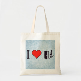 I Love Studying On The Stairs Tote Bag