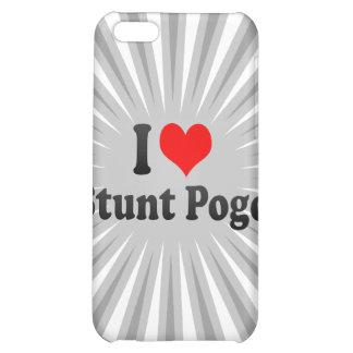 I love Stunt Pogo iPhone 5C Cases