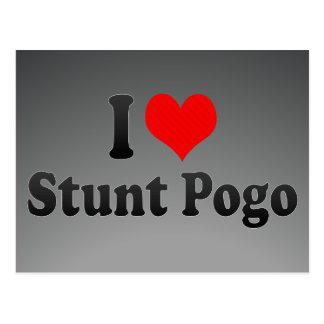 I love Stunt Pogo Post Cards