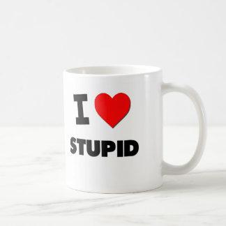 I love Stupid Coffee Mugs