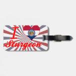 I Love Sturgeon, Missouri Tags For Luggage