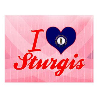I Love Sturgis Kentucky Post Cards