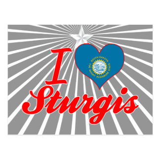 I Love Sturgis South Dakota Post Cards