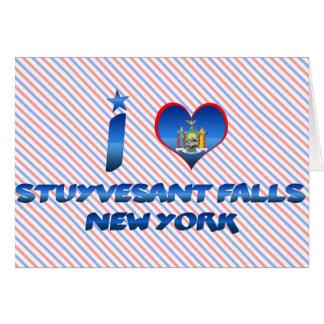 I love Stuyvesant Falls, New York Greeting Card