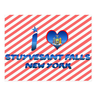 I love Stuyvesant Falls, New York Postcards