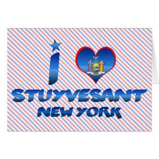 I love Stuyvesant, New York Card