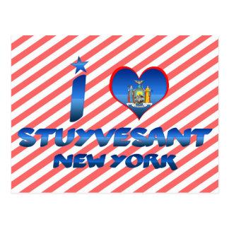 I love Stuyvesant, New York Post Card