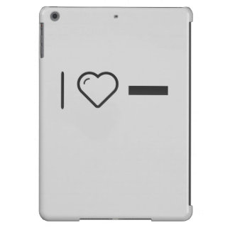 I Love Subtracting Cover For iPad Air