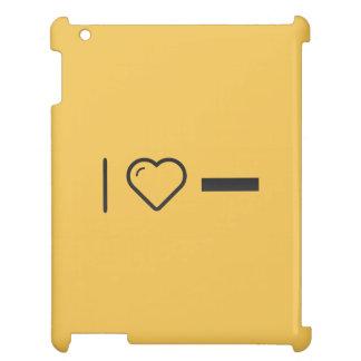 I Love Subtracting iPad Cases