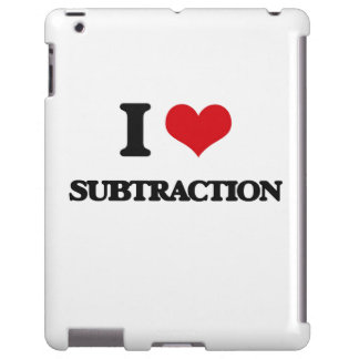 I love Subtraction