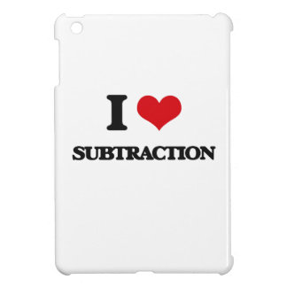 I love Subtraction Cover For The iPad Mini