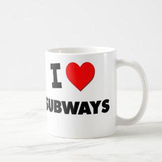 I love Subways Mug
