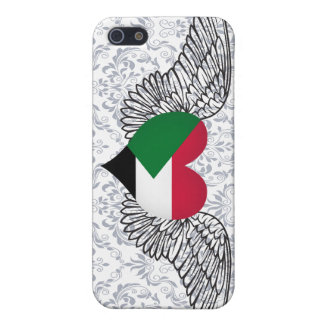 I Love Sudan -wings iPhone 5 Covers