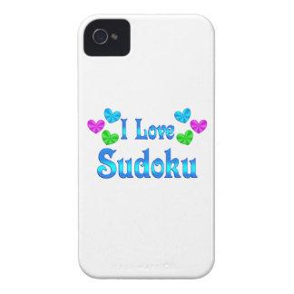 I Love Sudoku Case-Mate iPhone 4 Cases