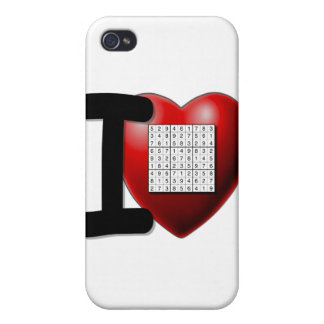 I Love Sudoku Covers For iPhone 4