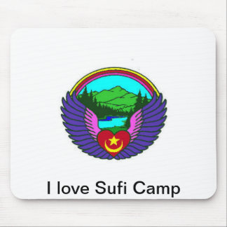 I love Sufi Camp Mouse Pad