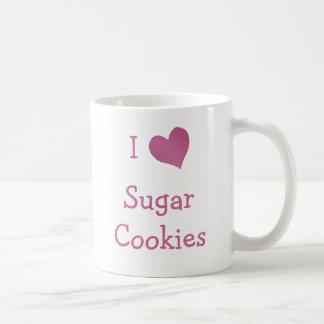 I Love Sugar Cookies Coffee Mug