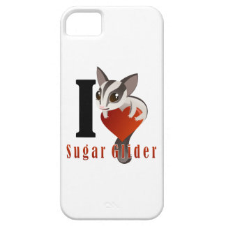 I Love Sugar Glider iPhone SE/5/5s Case