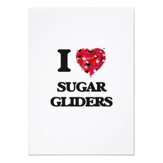 I love Sugar Gliders 5x7 Paper Invitation Card
