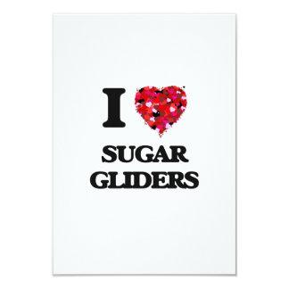 I love Sugar Gliders 3.5x5 Paper Invitation Card