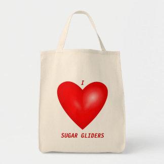 I Love Sugar Gliders Tote Bag