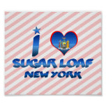 I love Sugar Loaf, New York Posters