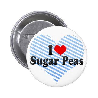 I Love Sugar Peas Pin