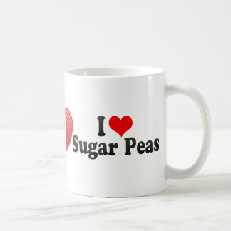 I Love Sugar Peas Mugs