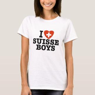 I Love Suisse Boys T-Shirt
