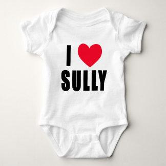 I Love Sully I HEART Sully Baby Bodysuit