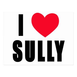 I Love Sully I HEART Sully Postcard