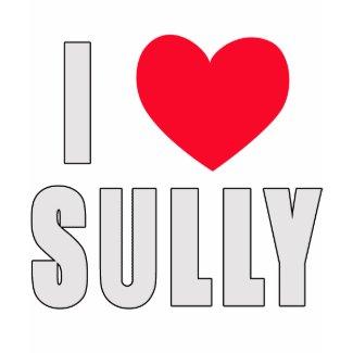 I Love Sully I HEART Sully shirt