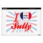 "I Love Sully, Iowa 15"" Laptop Skin"