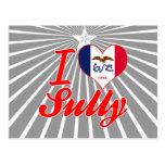 I Love Sully, Iowa Post Card