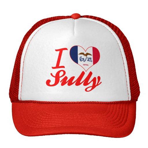 I Love Sully, Iowa Trucker Hats