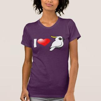 I Love Sulphur-crested Cockatoos Tee Shirts