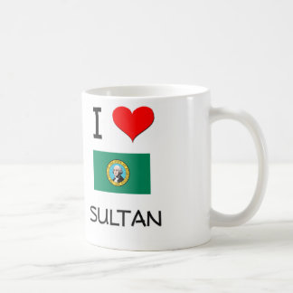 I Love Sultan Washington Classic White Coffee Mug