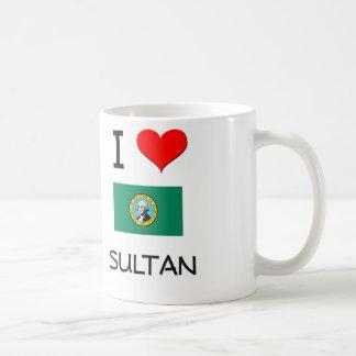 I Love Sultan Washington Coffee Mugs
