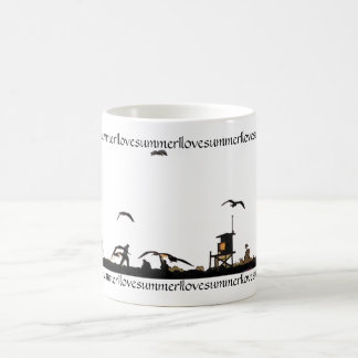 I Love Summer Beach-Walking Mug