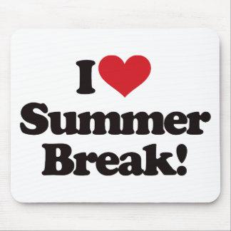 I Love Summer Break! Mouse Pad