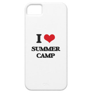 I love Summer Camp iPhone 5 Cases